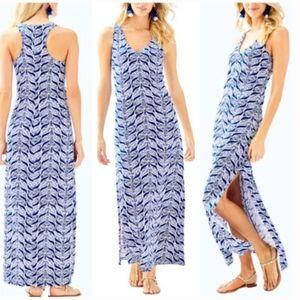 Lilly Pulitzer Keri Maxi Dress A Mermaids Tail SzL